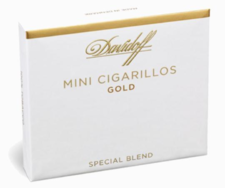 Davidoff Mini Cigarillos Gold Box of 20